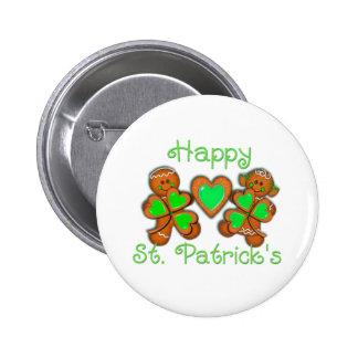 HAPPY ST. PATRICKS & KIDS by SHARON SHARPE 6 Cm Round Badge