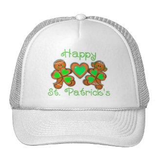 HAPPY ST PATRICKS KIDS by SHARON SHARPE Mesh Hat