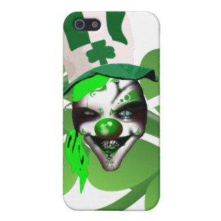 Happy St Patrick's scary clown Case For iPhone 5/5S