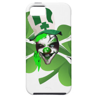 Happy St Patrick's scary clown Case For The iPhone 5