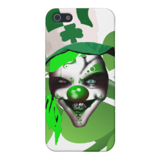 Happy St Patrick's scary clown iPhone 5/5S Case