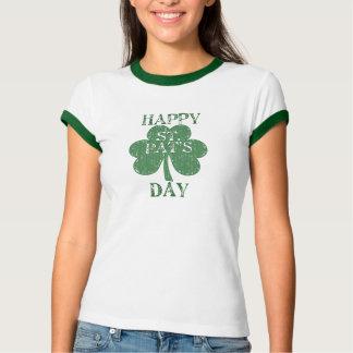 Happy St. Pat's Day Plaid Tshirt