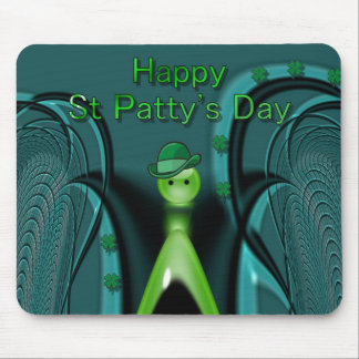 Happy St Patty apos s Day Mouse Mats
