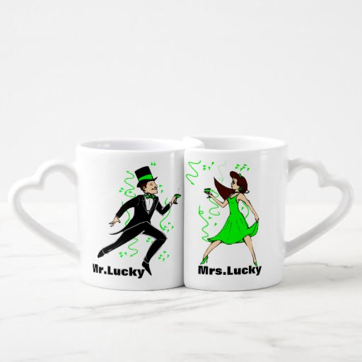 Happy St Patty Day Lovers Mugs