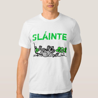Happy St Patty Day sláinte t-shirt