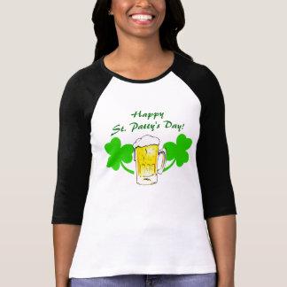 Happy St Patty s Day Lucky Shamrocks T- Shirt