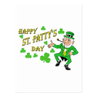 Happy St Patty s Day Post Card