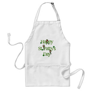 Happy St. Patty's Day Aprons