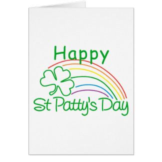 Happy St Patty's Day Cards