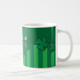 Happy St. Patty's Day Clovers Coffee Mug