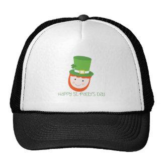 Happy St. Patty's Day Mesh Hat