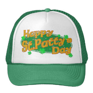 Happy St Patty's Day Trucker Hat