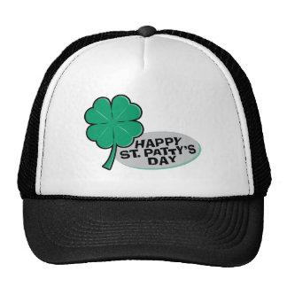 Happy St Patty's Day Mesh Hats
