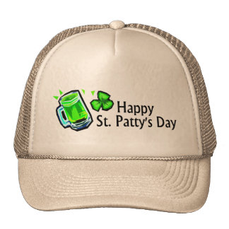 Happy St Pattys Day Mesh Hat