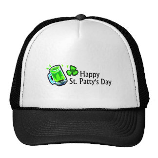Happy St Pattys Day Hats