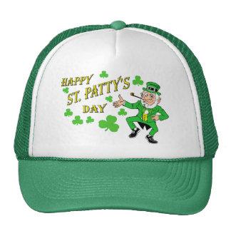 Happy St Patty's Day Mesh Hat