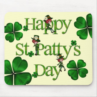 Happy St. Patty's Day Mouse Pad