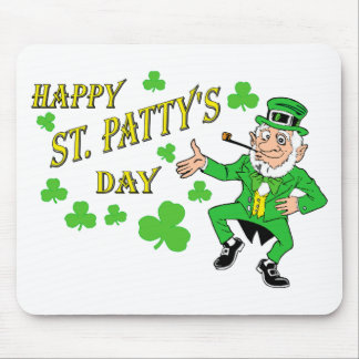 Happy St Patty's Day Mouse Pad
