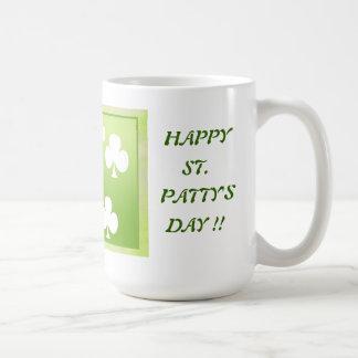 Happy St. Patty's Day Mug !!