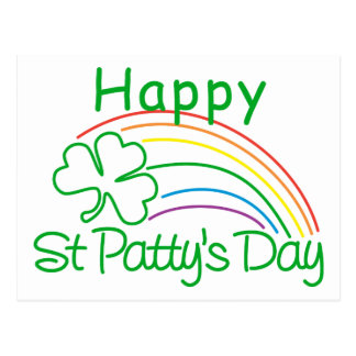 Happy St Patty's Day Postcard