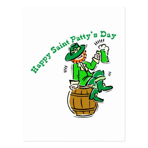 Happy St Patty's Day Post Cards