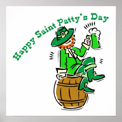 Happy St Patty's Day Print