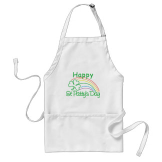 Happy St Patty's Day Standard Apron
