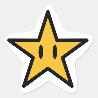 Happy Star Star Sticker