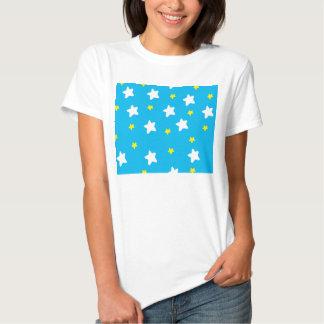 Happy Stars Sky Blue Tees