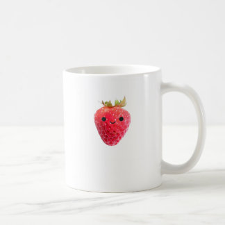 Happy Strawberry Coffee Mugs