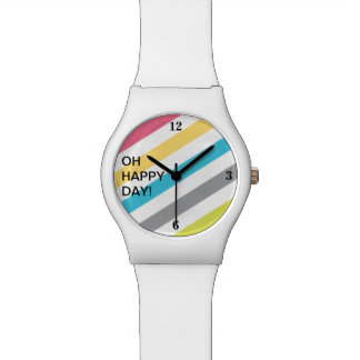 Happy Stripe Watch