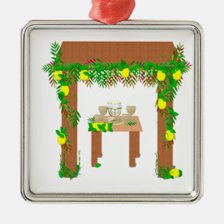 Happy Sukkot Christmas Ornament