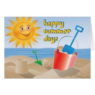 Happy Summer Days Card