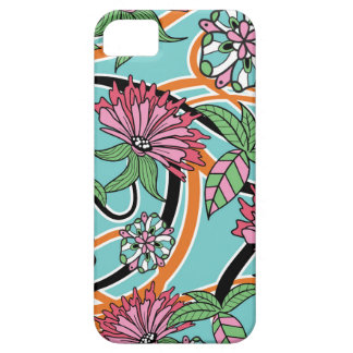happy summer floral pattern barely there iPhone 5 case