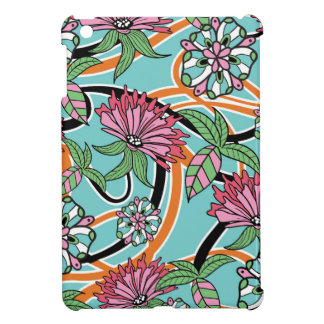 happy summer floral pattern case for the iPad mini