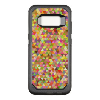 Happy summer triangles OtterBox commuter samsung galaxy s8 case