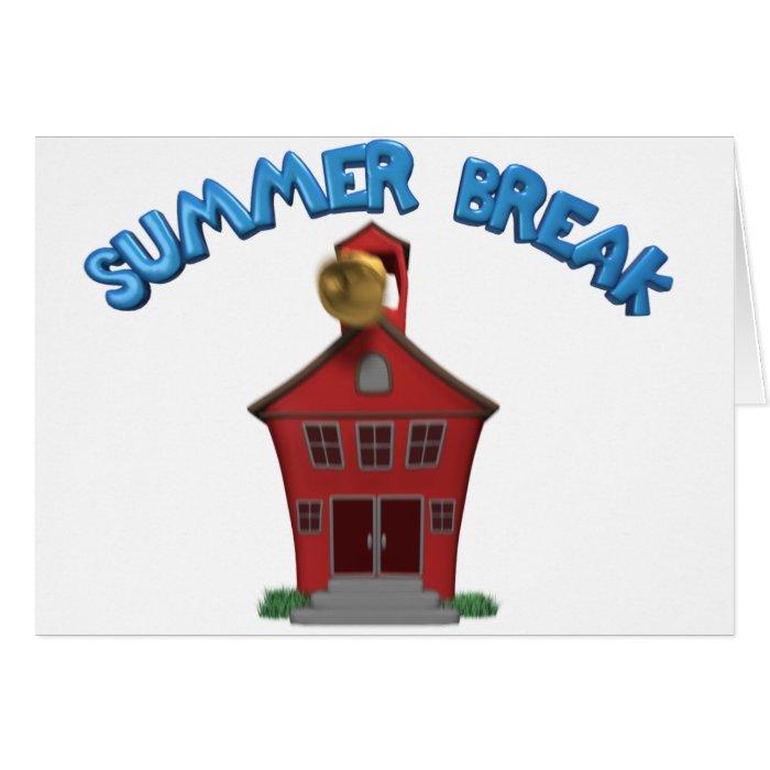 Happy Summer Vacation Greeting Card