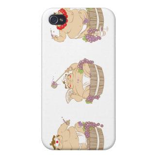 Happy sumo iPhone 4 cover