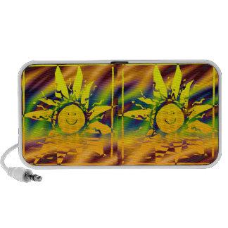 HAPPY SUN Doodle Travelling Speaker