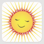Happy Sun -fun- Stickers