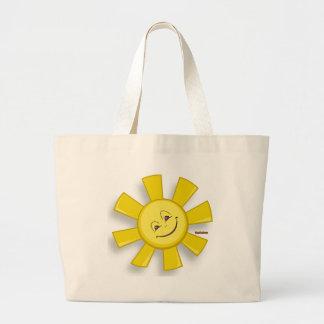 Happy Sun Jumbo Tote Bag
