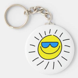 Happy Sun Key Chains