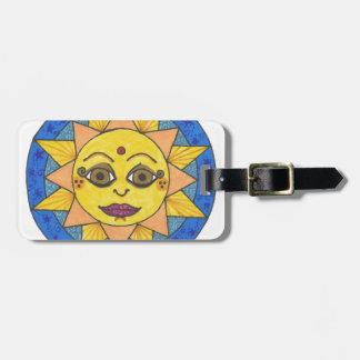 Happy Sun Luggage Tag