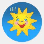 Happy sun - Sticker