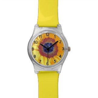 Happy Sunflower Days Watch (Yellow)