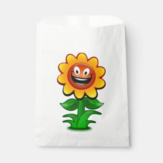 HAPPY SUNFLOWER FAVOUR BAGS