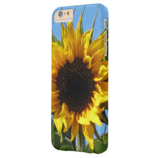 Happy Sunny Sunflower Barely There iPhone 6 Plus Case