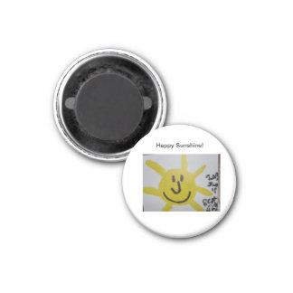 Happy Sunshine! Magnet