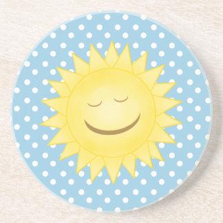 Happy Sunshine & Polka Dot Coasters