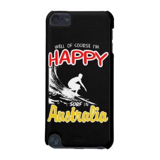 Happy Surfer AUSTRALIA (Wht) iPod Touch 5G Case
